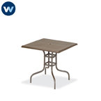 Camino Series - Table Only - 36 x 36 Square Standard Table  Square Perforated