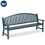Heritage Series 6' Mission Arch Back Bench