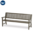 Heritage Series 6' Mission Straight Back Bench
