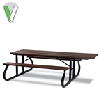 Green Valley 8 foot ADA Picnic Table - Portable