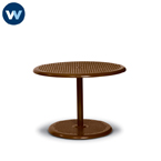 Camino Series - Portable Table Only - Round Outdoor Pedestal Table