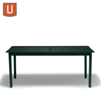 Yorktown Collection Table Only - 36 inch x 72 inch Rectangular - Portable/Surface Mount