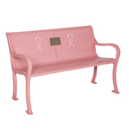 Breast Cancer Awareness Memorial Bench