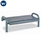 Contemporary Series 4' or 6'  Bench without Back- Inground