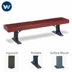 Designer Series Bench without Back - Single