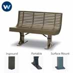 Designer Series Bench with Back