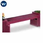 Designer Series Bench /Planter - Bench Only