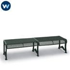Estate Series 8 foot Outdoor Bench without Back