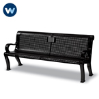Specialty Series Memorial 6 foot Estate Bench with plaque