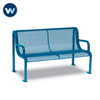 Uptown Series 4' and 6'  Benches with Arms