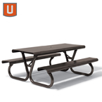Portage Collection 6 foot or 8 foot Picnic Table - Portable
