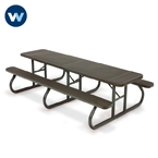Signature Series Picnic Tables - 10' Shelter - Portable