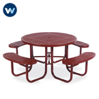 Signature Series 46 inch Round Table - Portable