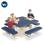 Signature Series Children's Square 46 inch Portable Table