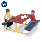 Signature Series Childrens Picnic Table - 6' Portable
