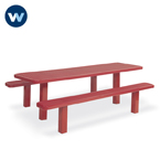 Signature Series Picnic Table - Multi-Pedestal - Inground