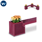 Designer Series Bench/Planter  - End Planter Only