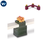 Designer Series Bench/Planter -  Straight Connector Planter Only