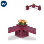 Designer Series Bench/Planter  - Corner Connector Planter Only
