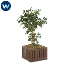Wabash - Square Planters w/Liners