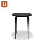 "Carlisle Collection Table Only -  36"" Round Bar Height - Portable/Surface Mount"