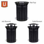 "Urbanscape - ""I"" Style 32 Gallon Receptacle with scrolls and Liner"