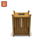 Urbanscape - Yorktown Collection 32 Gallon Receptacle