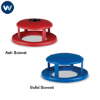 Wabash Accessory - Lid - 55 Gallon Receptacle Lid - Bonnet Lids