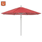7.5' Aluminum Umbrella Perforated Pattern
